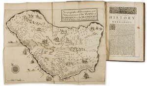 380  Americas.- Ligon (Richard) A True & Exact History of the Island of Barbadoes, by Peter Parker...and Thomas Guy, 1673.
