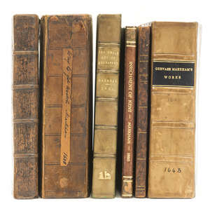 266  Markham (Gervase) A Way to Get Wealth, seventh edition, 1648; and 5 others (6)