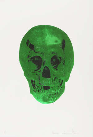 20  Damien Hirst (b.1965) The Dead (Lime Green/Racing Green)