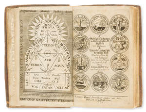 7  Alchemy.- Cooper (William) The Philosophical Epitaph of W.C. Esquire..., first edition, first issue, T.R. and N.T. for William Cooper, at the Pellican in Little Britain, 1673.