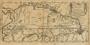 85  Americas.- South America.- Acuña (Cristóbal de) & others., Voyages and Discoveries in South-America, 3 parts in 1 vol., first edition in English, 2 folding engraved maps, for S.Buckley, 1698.