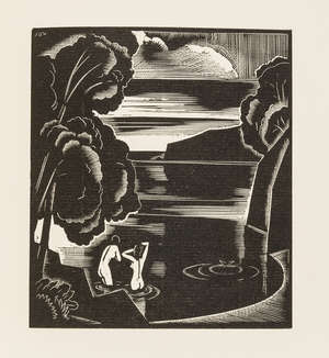 24  Buckland Wright (John).- Keats (John) The Collected Sonnets, one of 376 copies, wood-engravings by John Buckland Wright, Maastricht, Halcyon Press, 1930.