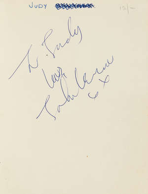 0  Lennon (John) In His Own Write, signed and inscribed by the author, 1964.