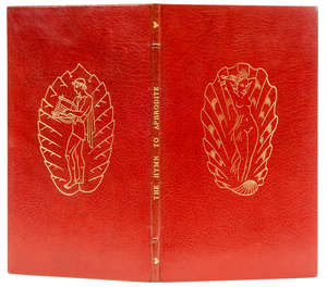 115  Golden Cockerel Press.- , Homeric Hymn to Aphrodite (The), , number 24 of 100 specially-bound copies signed by the translator, original red morocco, gilt, Golden Cockerel Press, 1948.