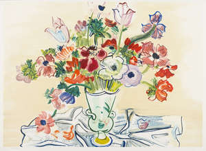 19  Raoul Dufy (1877-1953) (after) Anémones