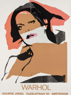 5  Andy Warhol (1928-1987) (after) Ladies and Gentlemen, A poster for Galerie Jurka