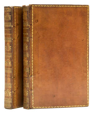 142  Chess.- Philidor.- Pratt (P.) Studies of chess; containing Caissa, a poem, by W. Jones, a systematic introduction to the game; and the whole analysis of chess by A. D. Philidor, 2 vol., 1805.