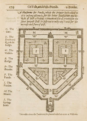 67  Agriculture.- Markham (Gervase) Cheape and Good Husbandry..., third edition, by T[homas]. S[nodham]. for Roger Iackson, 1623 & another on tithes (2)