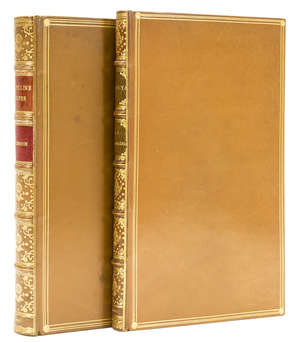 61  Coleridge (Samuel Taylor) Sibylline Leaves: A Collection of Poems, 1817 & Zapolya, 1817, first editions, similar tan calf, gilt (2)